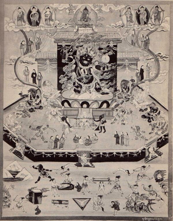 libro tibetano de los muertos - el juicio